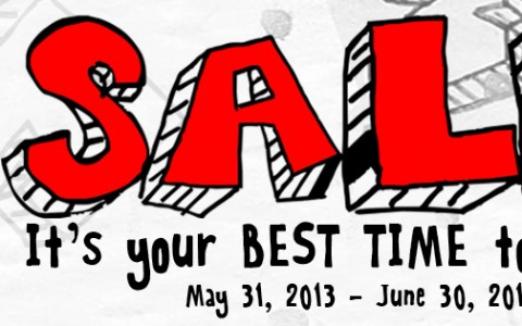 Folded and Hung Sale May - June 2013