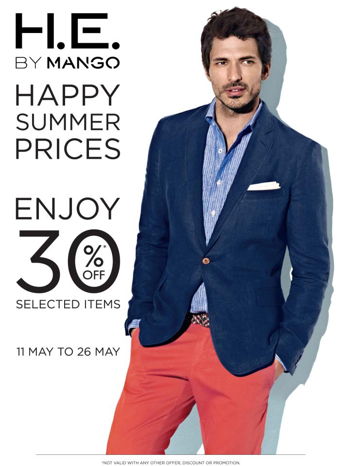 H.E. by Mango Summer Sale May 2013