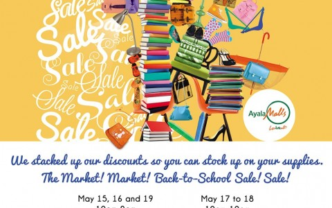 Market Market Back to School Sale May 2013