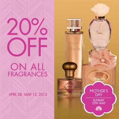Marks & Spencer Women's Fragrances Sale May 2013