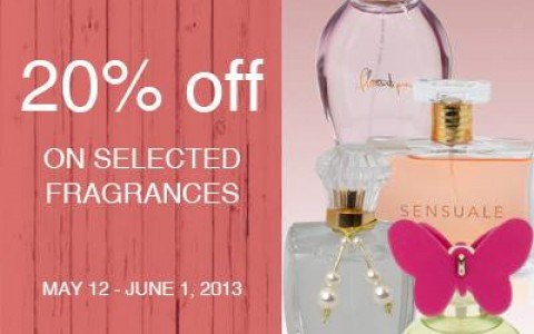 Marks & Spencer Women's Fragrances Sale May - June 2013