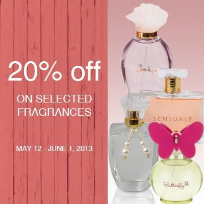 Marks & Spencer Women's Fragrances Sale May - June 2013