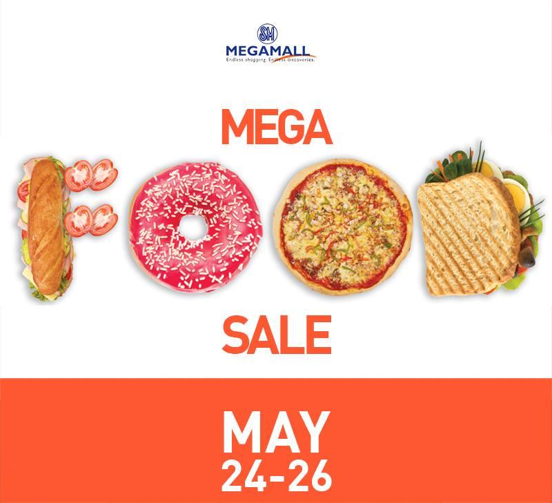 Mega Food Sale @ SM Megamall May 2013