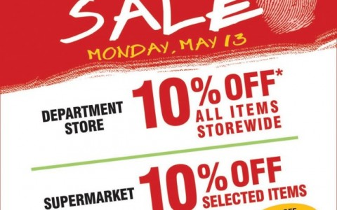 Metro Department Store & Supermarket Election Day Sale May 2013