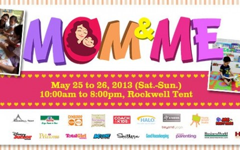 Mom & Me Bazaar @ Rockwell Tent May 2013