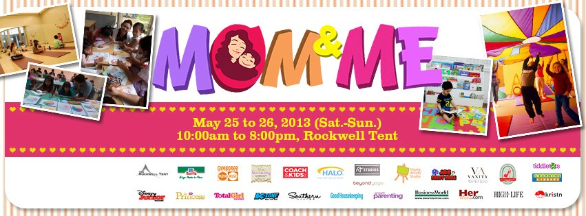 Mom & Me Bazaar @ Rockwell Tent May 2013
