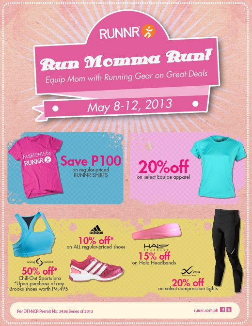 Runnr Run Momma Run Sale May 2013