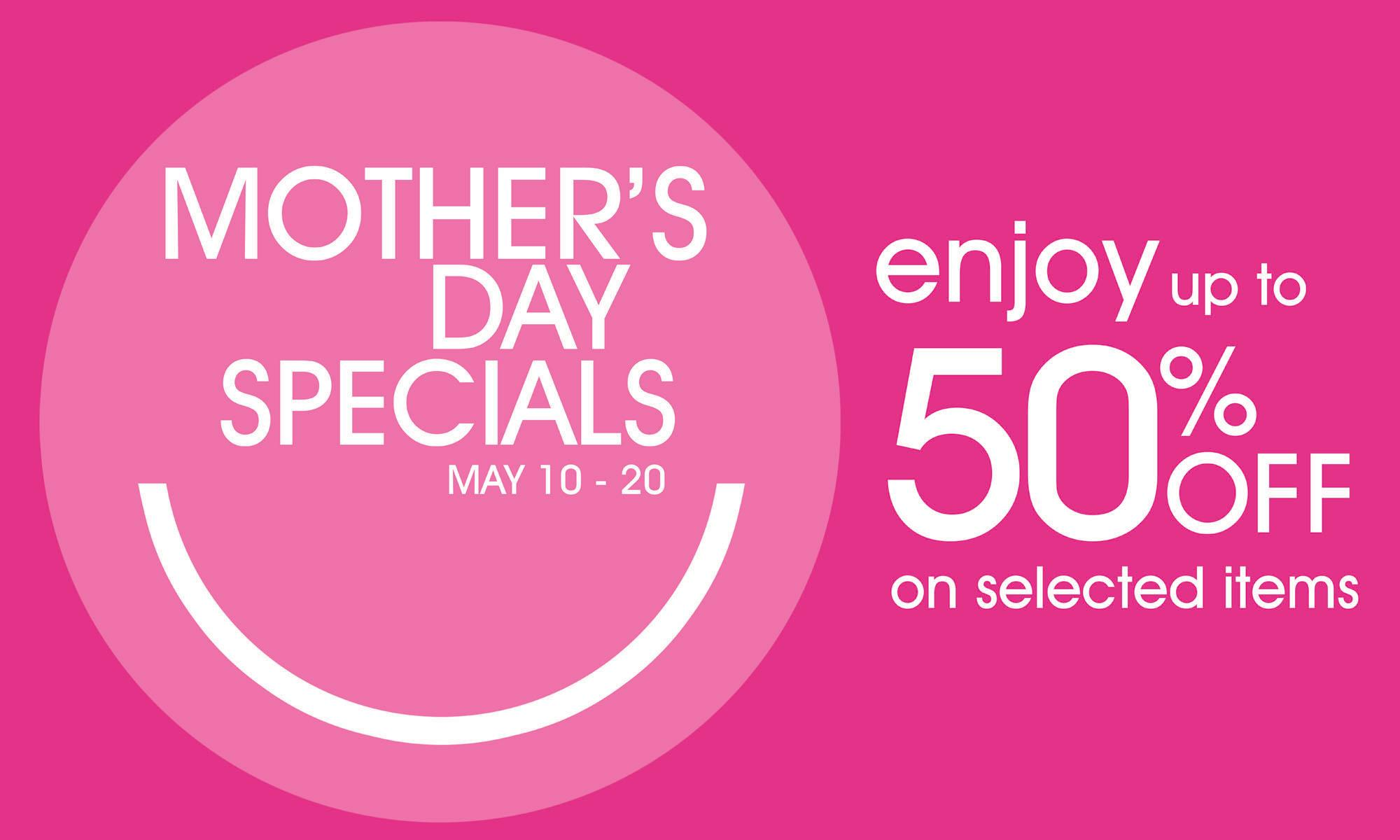 S&R Mother's Day Specials May 2013