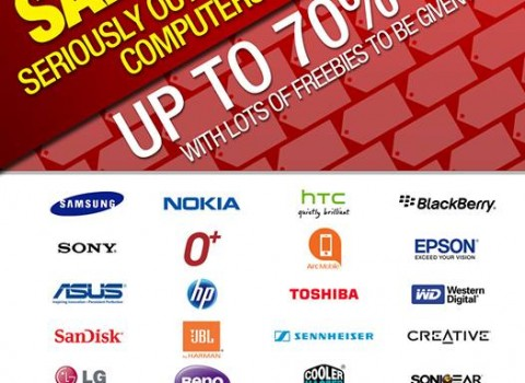 Sale-riously Tech Sale @ Whitespace Makati May 2013