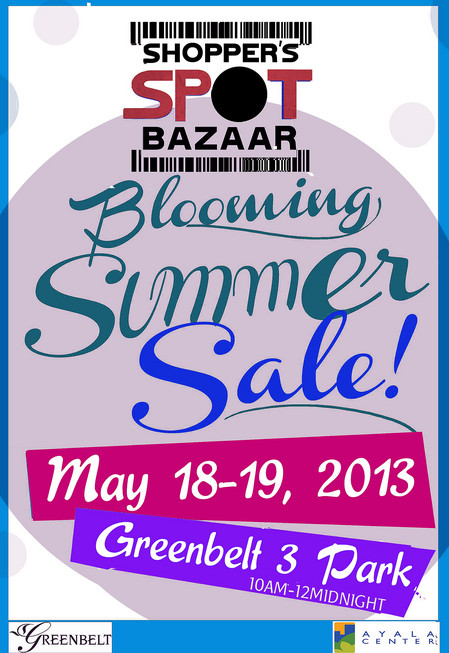 Shopper's Spot Bazaar Blooming Summer Sale @ Greenbelt 3 May 2013