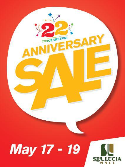 Sta. Lucia East Grand Mall Anniversary Sale May 2013
