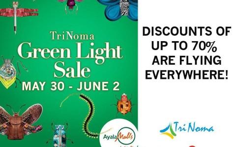 Trinoma Green Light Sale May - June 2013