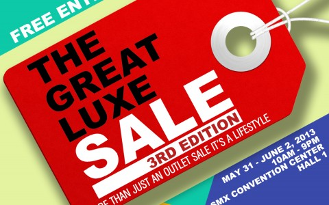 The Great Luxe Sale @ SMX Convention Center May - June 2013