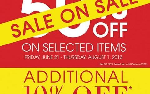 Debenhams Sale on Sale June - July 2013