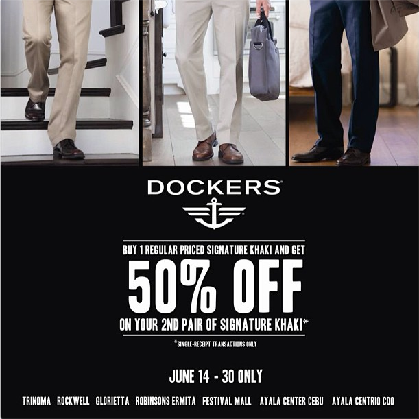 Dockers Signature Khaki Promo June 2013