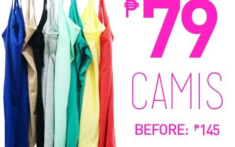 Forever 21 Basic Camis Sale June - July 2013