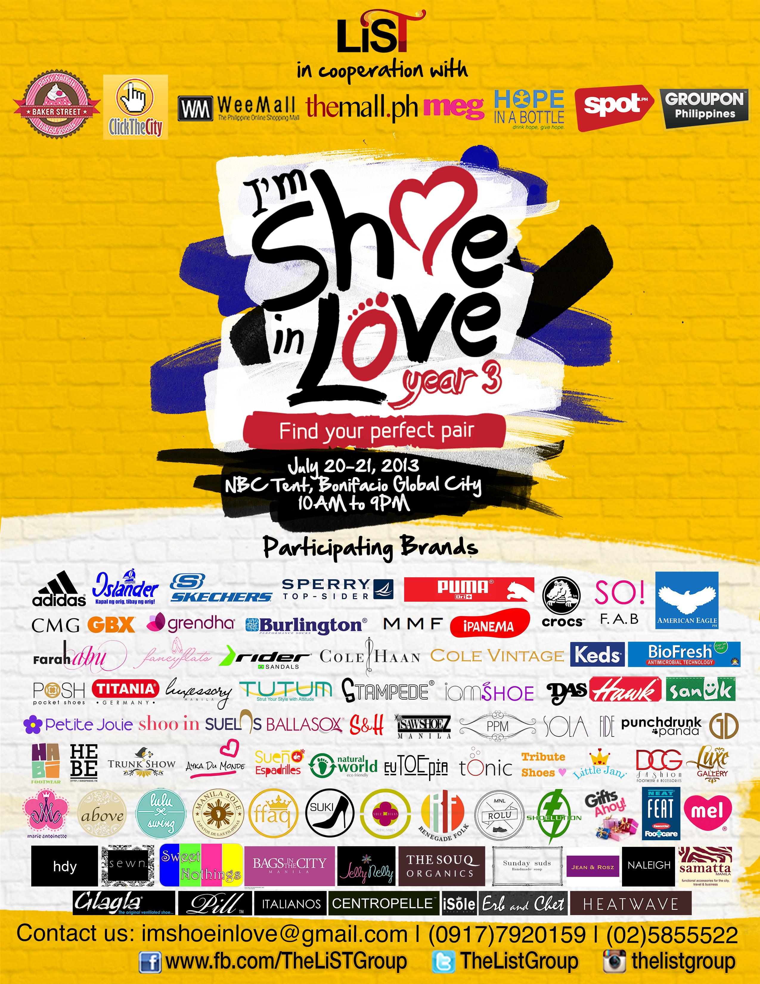 Im Shoe In Love @ NBC Tent July 2013