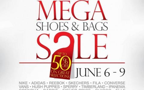 Mega Shoes & Bags Sale @ SM City North Edsa June 2013