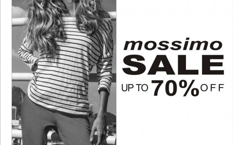 Mossimo End of Season Sale June - July 2013