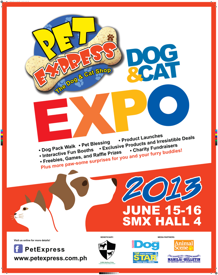 Pet Express Dog & Cat Expo @ SMX Convention Center June 2013