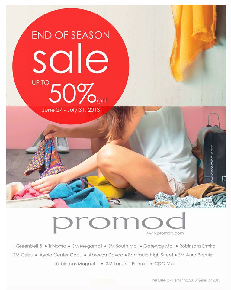 Promod End of Season Sale June - July 2013