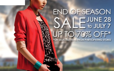 SM Mall of Asia End of Season Sale June - July 2013