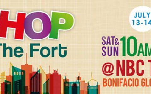 Shop @ The Fort @ NBC Tent July 2013
