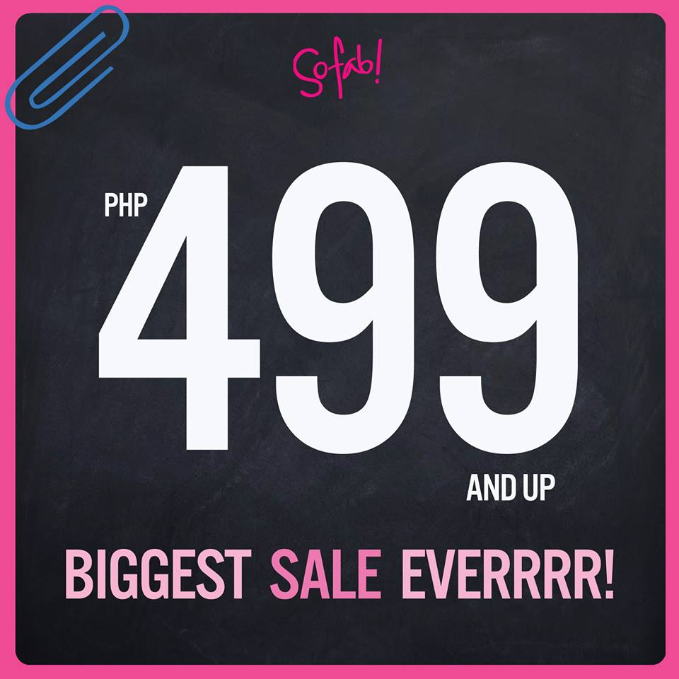 So! FAB Sale June - July 2013