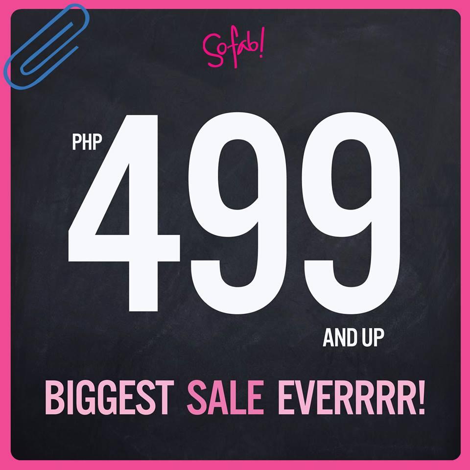 So! FAB Sale June - July 2013