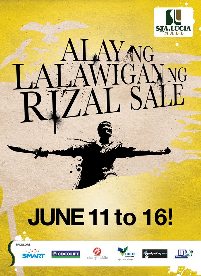 Sta. Lucia East Grand Mall Alay ng Lalawigan ng Rizal Sale: June 2013