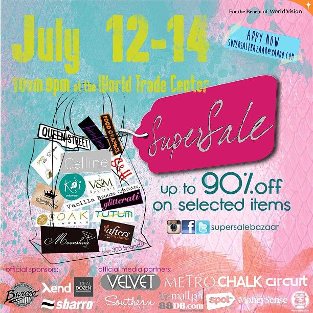 Super Sale Bazaar @ World Trade Center July 2013