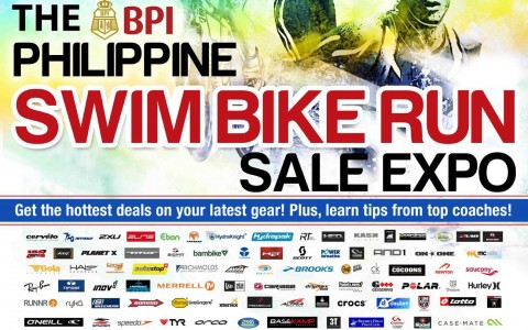 The Philippine Swim Bike Run Sale Expo @ SMX Convention Center June 2013