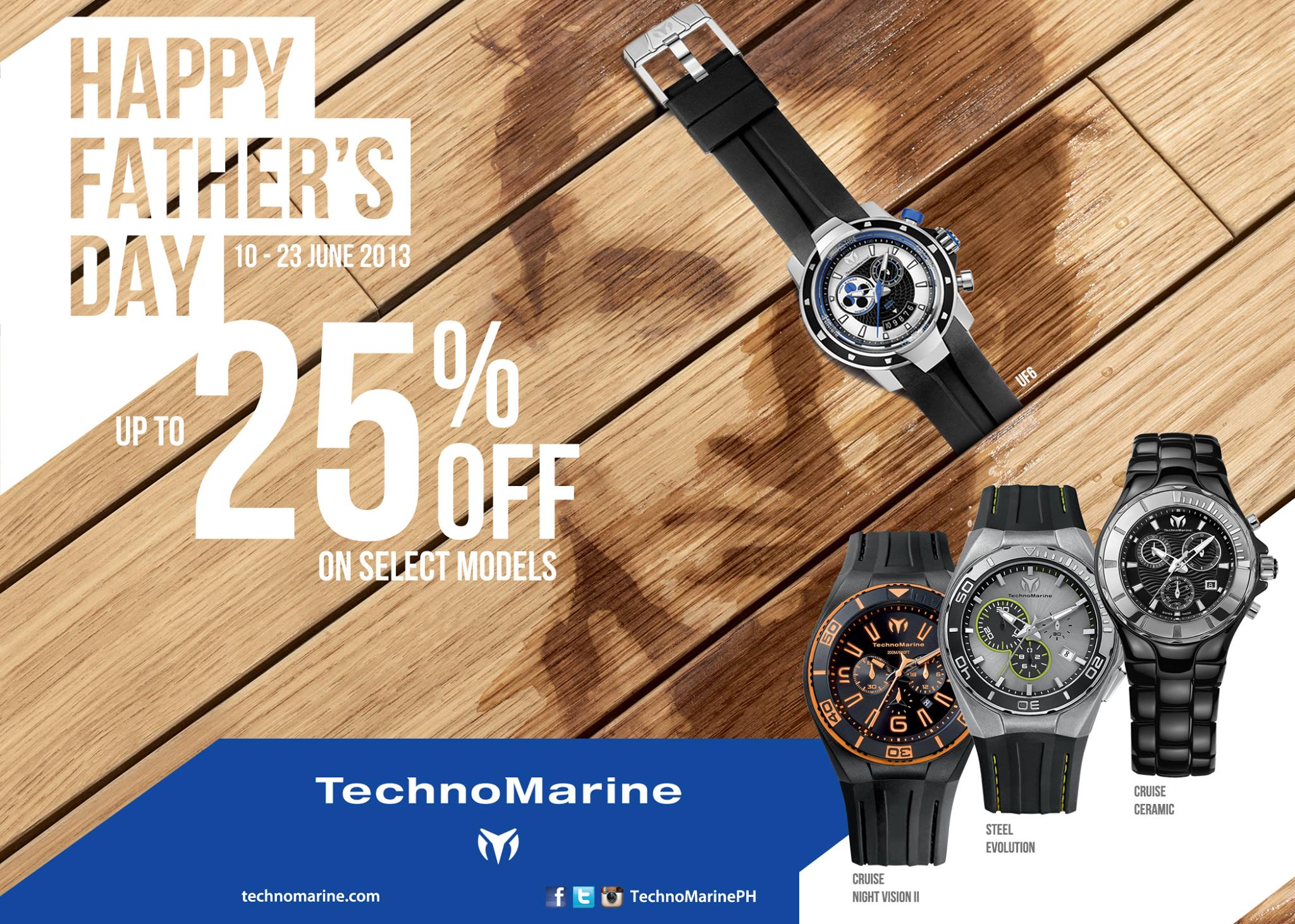 Technomarine Father's Day Sale June 2013