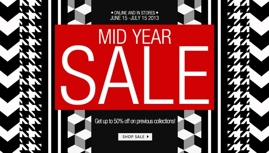 Tomato Mid-Year Sale June - July 2013