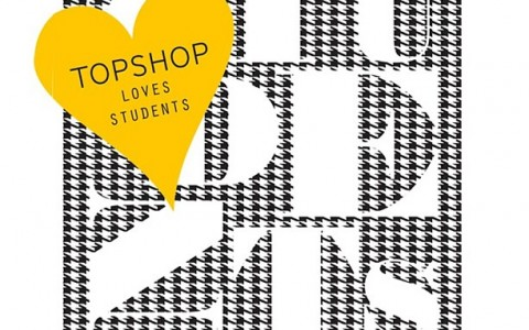 Topshop Loves Students Promo June 2013