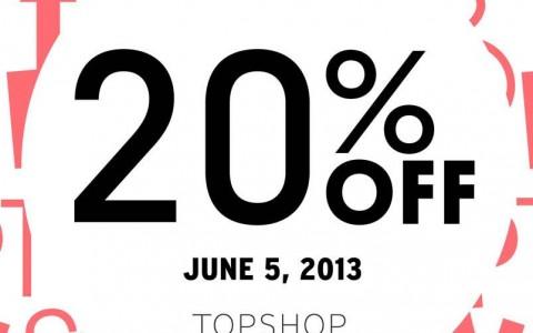 Topshop Sale @ Robinsons Magnolia June 2013
