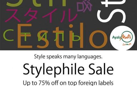 Trinoma Stylephile Sale June - July 2013
