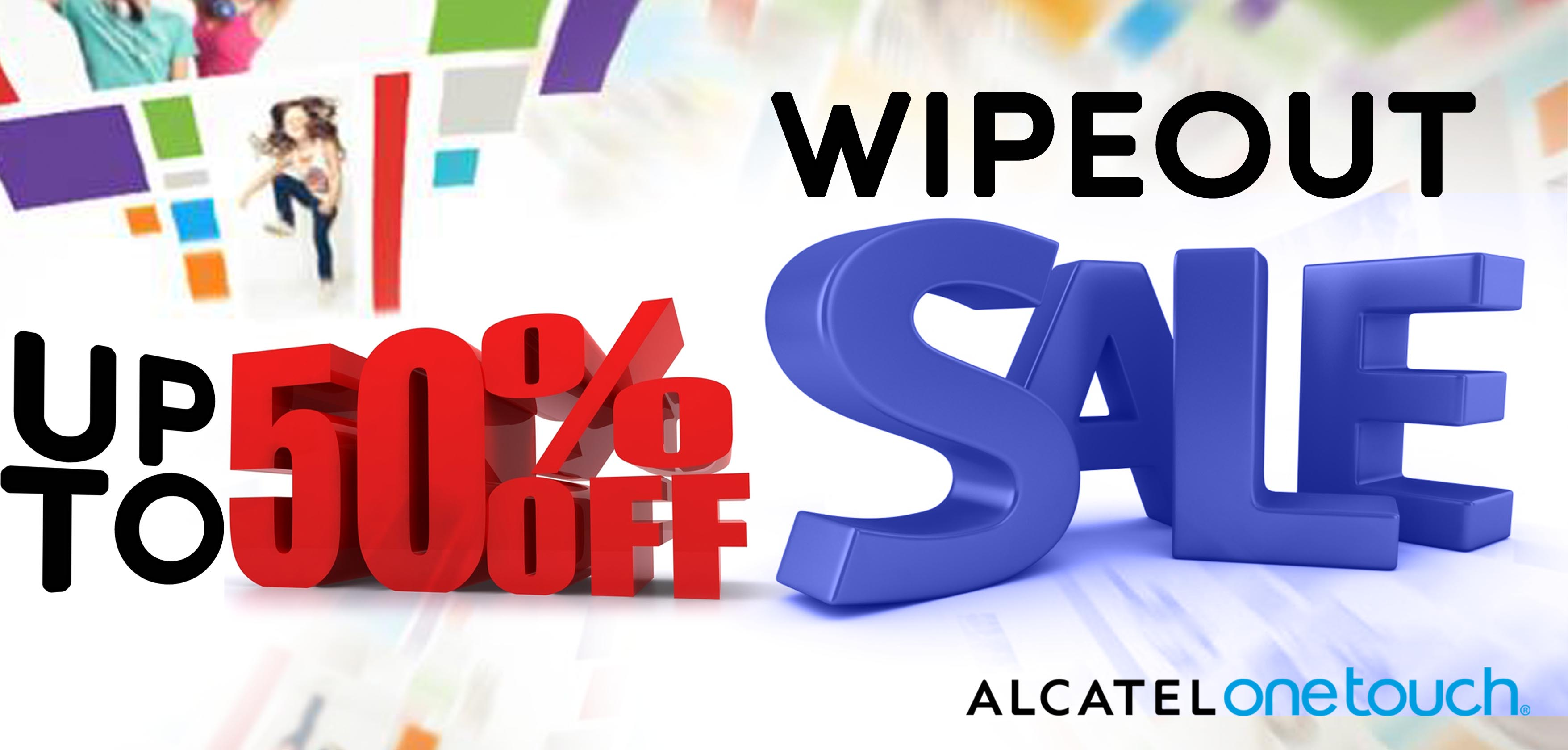 Alcatel Wipeout Sale June 2013