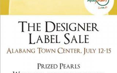 Alabang Town Center The Designer Label Sale July 2013