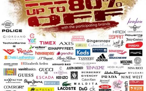 Big Brand Sale @ Pinoy Big Brother Concert Hall August 2013