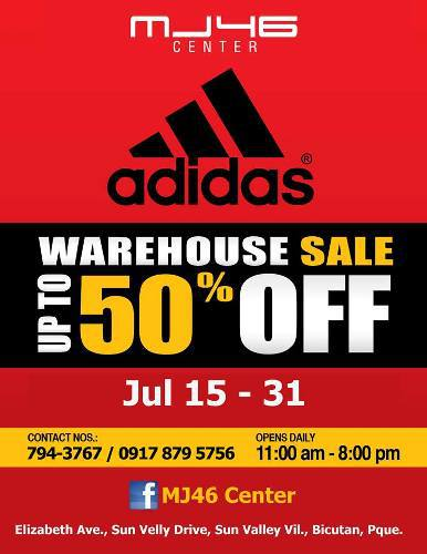 MJ46 Center Adidas Warehouse Sale July 2013