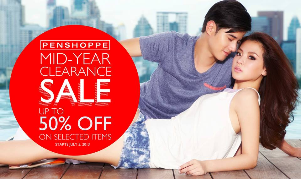 Penshoppe Mid-Year Clearance Sale July 2013
