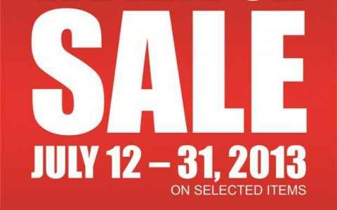 Planet Sports & TAF Philippines Sale July 2013