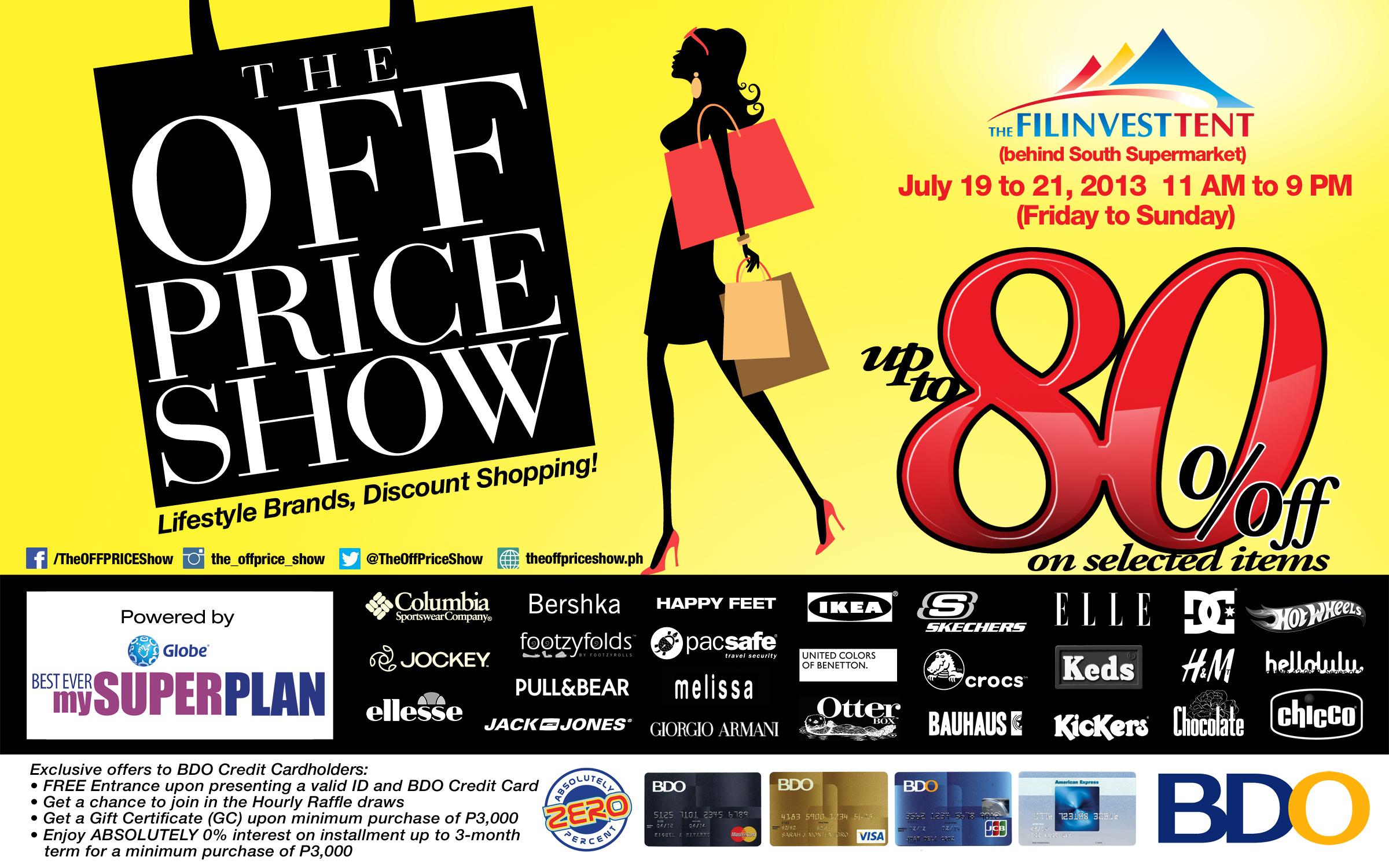 The Off Price Show @ Filinvest Tent July 2013