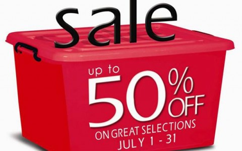 SM Homeworld Storage Solutions Sale July 2013