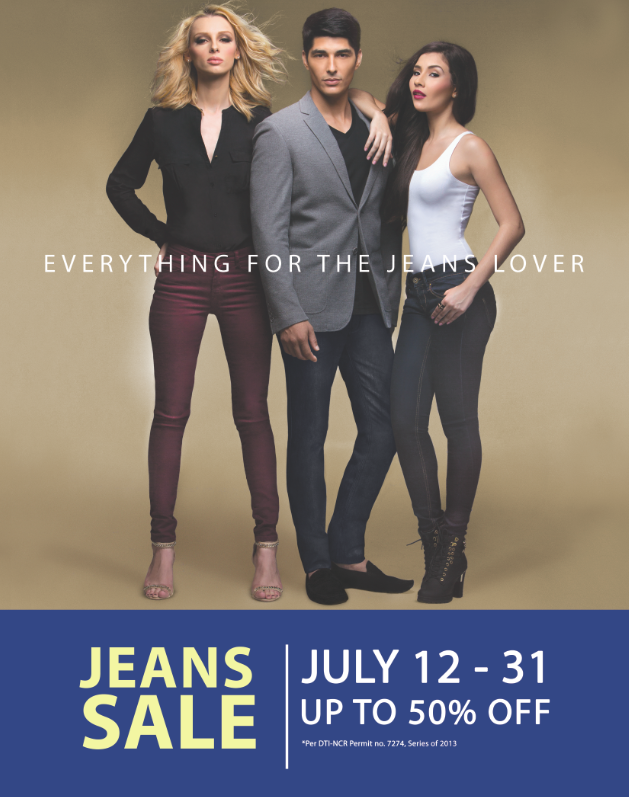 SM Supermalls Jeans Sale July 2013