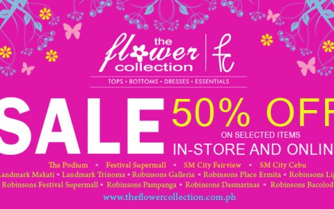 The Flower Collection Sale