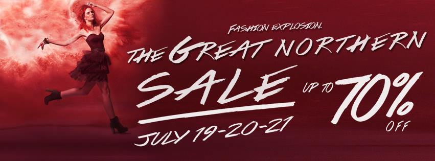 The Great Northern Sale @ SM City North Edsa July 2013