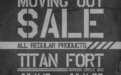 Titan Burgos Circle Moving Out Sale July 2013