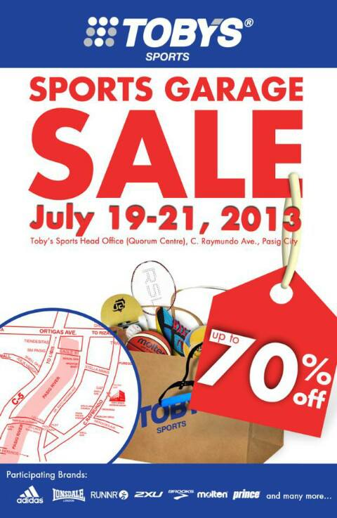 Tobys Sports Garage Sale_July 2013